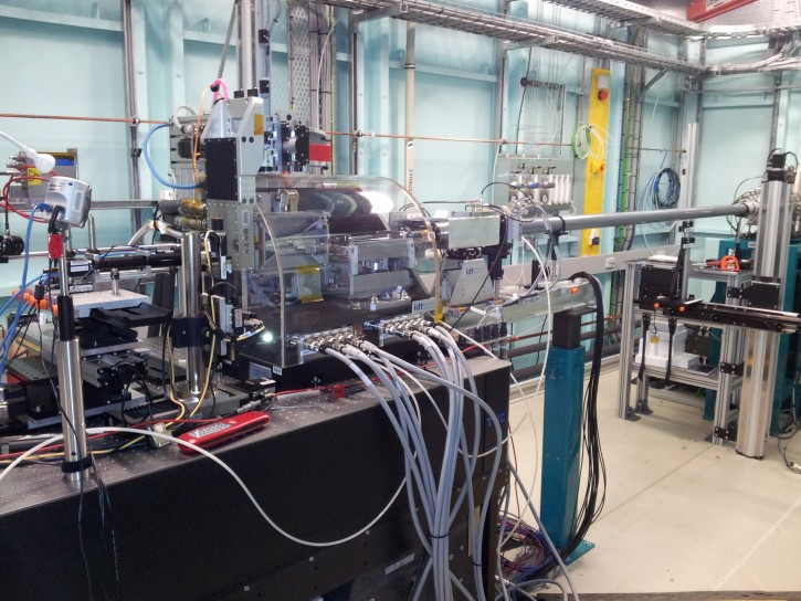 The XFM beamline at the Australian Synchrotron