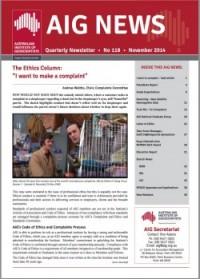 AIG News November 2014