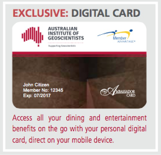 AIG Member Advantage Digital Card