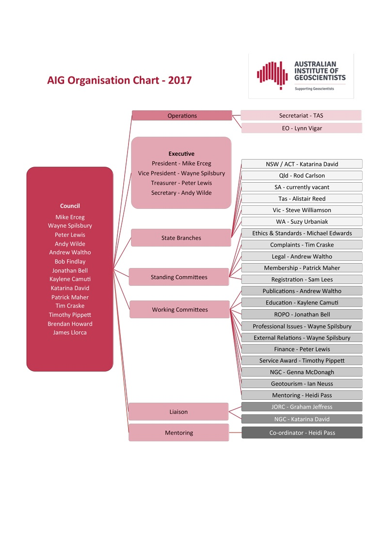 aig-organisation-chart 2017-2018