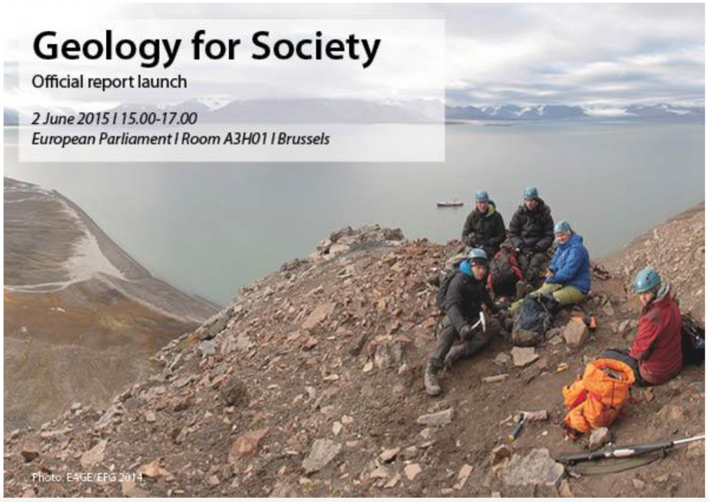 Geology for Society