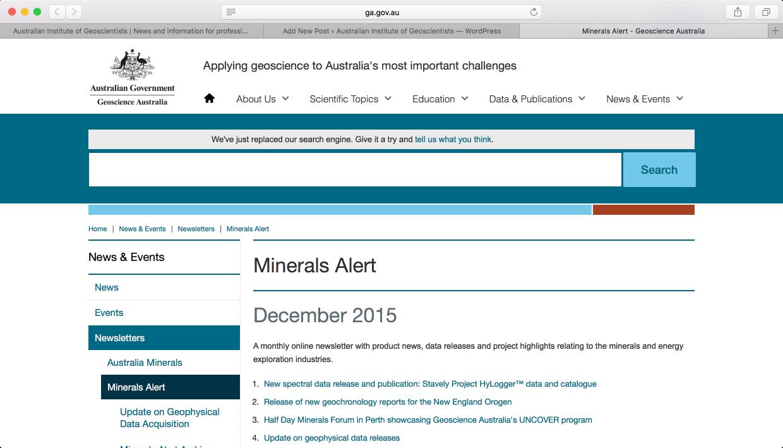 GA Minerals