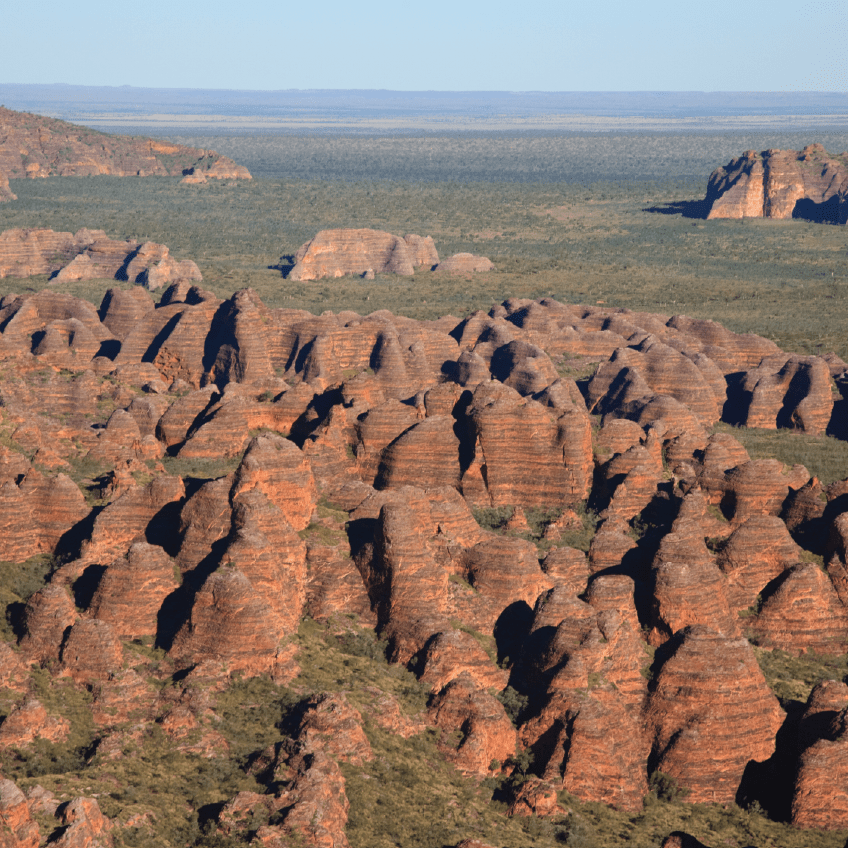 Bungle Bungles from Helicopter